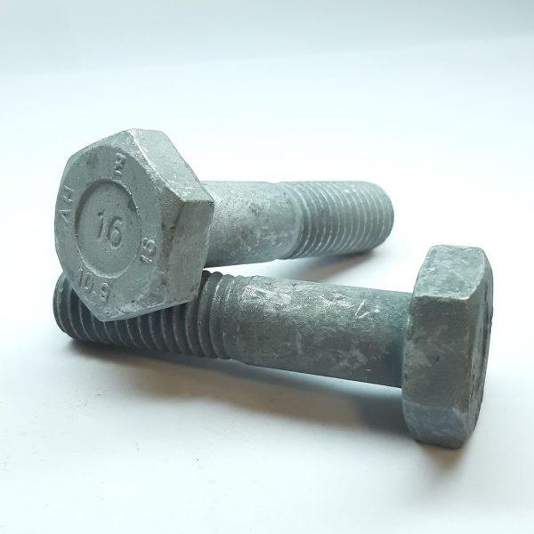 EN14399-4 Konštrukčná skrutka so šesťhrannou hlavou